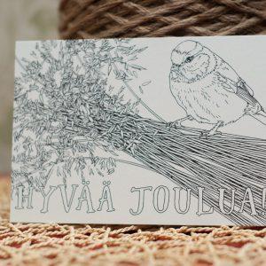 Postikortti – Hyvää Joulua A6