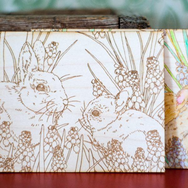Mummon Puutarhassa - Vanerinen pupukortti